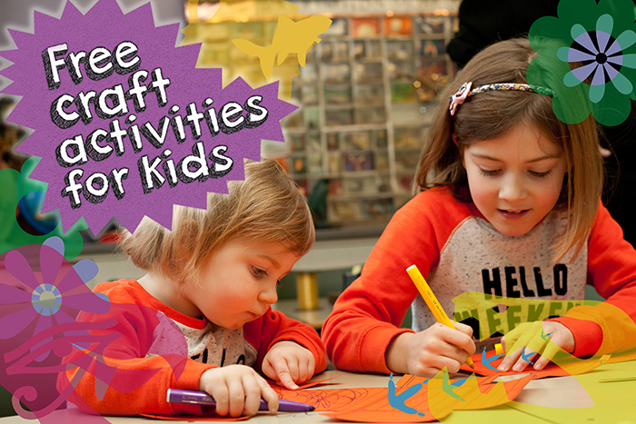 Free kids craft activities