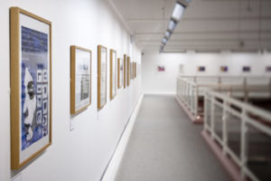 Mezzanine Gallery at Warrington Museum & Art Gallery. Photo credit: Jim Varney