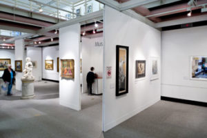 Large Art Gallery at Warrington Museum & Art Gallery. Photo credit: Jim Varney