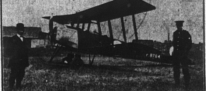 1919 Flying Week Banner Image